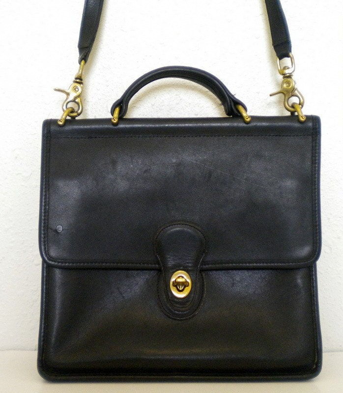 Coach purses black