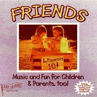 """Friends"" CD by Just Us Kids"