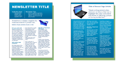 Free business newsletter templates