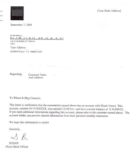 Order Letter Of Recommendations