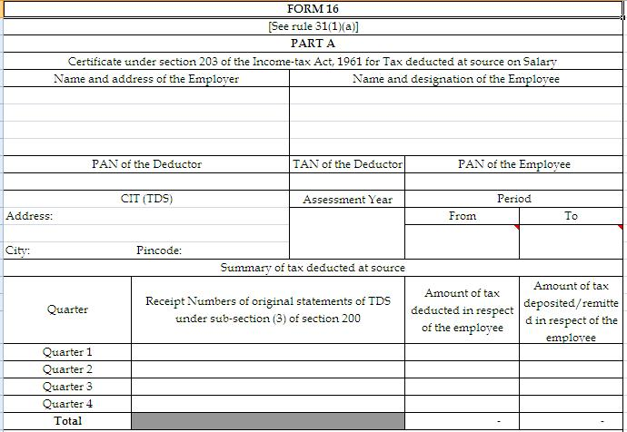 Salary Certificate Format In Excel